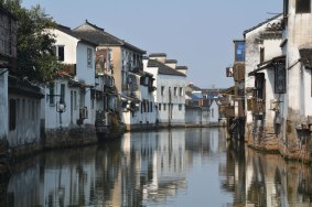 canals in Suzhou