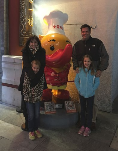 after our Peking duck dinner