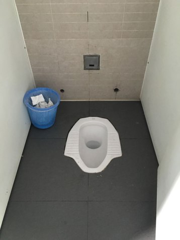 typical Chinese toilets