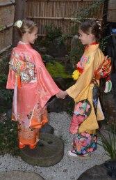 playing dress-up, Kyoto