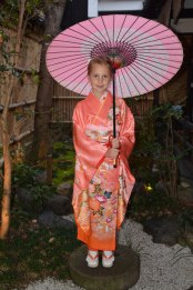 playing dress-up, Kyoto