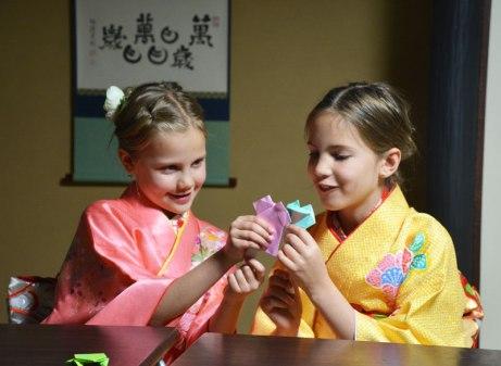 origami class, Kyoto