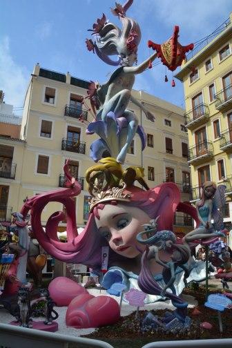 falla in Valencia