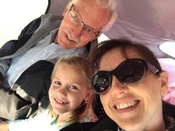 selfie with Nati and Wayne