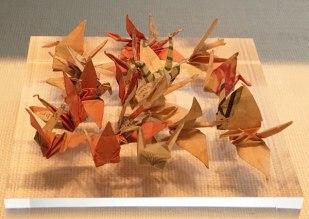 Sadako's paper cranes, Hiroshima