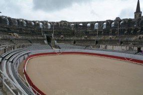 Arles: ancient Roman arena currently used for bullfights