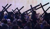 carrying crosses