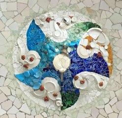 ceiling, Park Güell, Barcelona