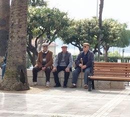 three French men