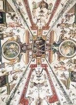 ceiling in the Uffizi