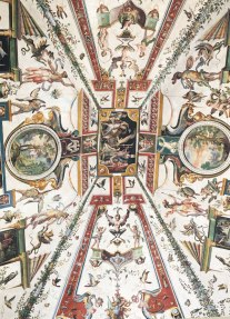 ceiling in the Uffizi