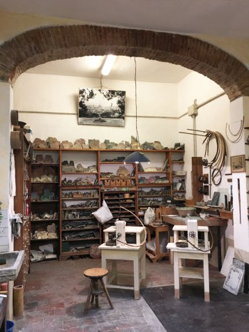 mosaic workshop in Florence