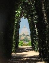 through a keyhole, Rome