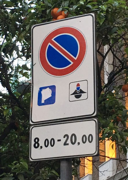 No parking and...?