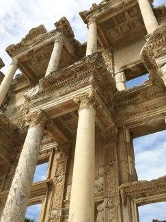 library in Ephesus, Turkey