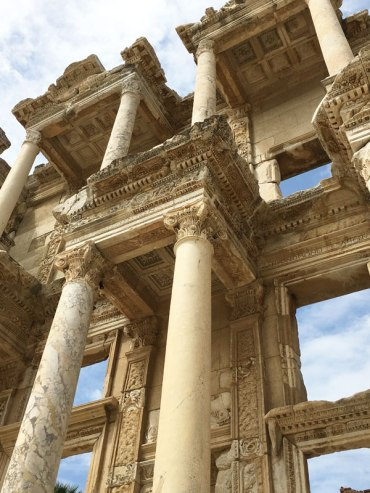 library in Ephesus, Turkey