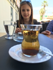delicious apple tea, Turkey