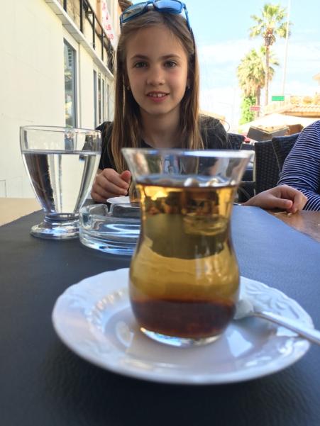 delicious apple tea, Turkey
