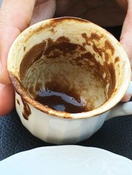 """reading"" Todd's coffee, Turkey"