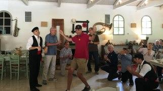 Todd dancing in Olympia