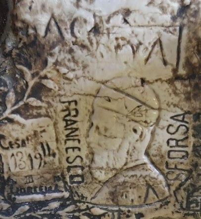 graffiti in prison, Doge's Palace, Venice