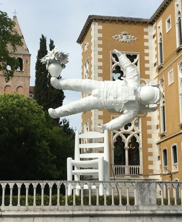sculpture by Joseph Klibansky, Venice