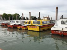 ambulances in Venice
