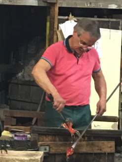 Murano: making glass horse