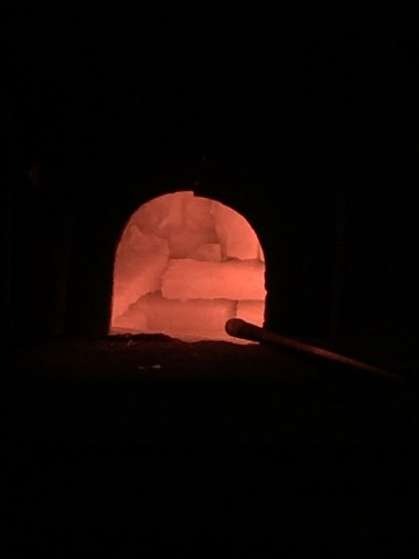 Murano: inside of a glass kiln
