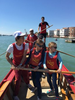 rowing with Bucintoro club, Venice