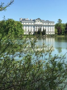 Leopoldskron Palace, used as the rear of the von Trapp home in Sound of Music, Salzburg