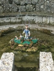 trick fountain, Hellbrunn Palace