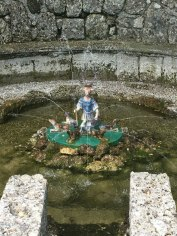 trick fountain, Hellbrunn Palace