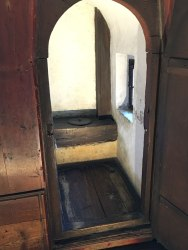 archbishop's toilet in Hohensalzburg Fortress