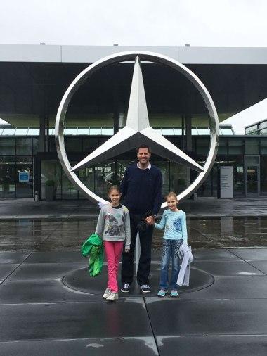 Mercedes factory