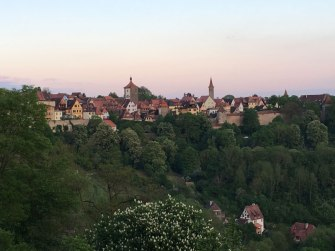 dusk in Rothenburg