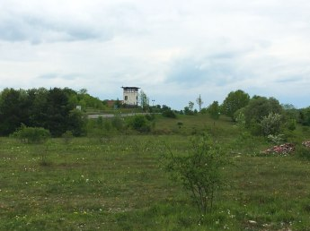 watch tower at old East/West German border