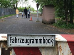 old border crossing between East and West Germany