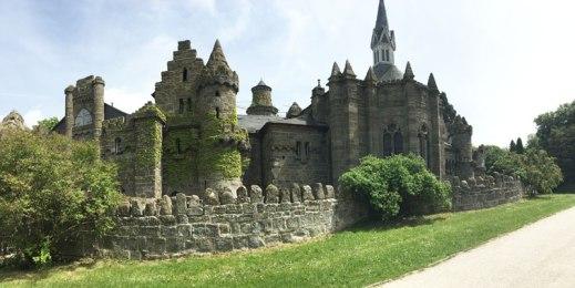 Löwenburg castle, built to look like ruins, Kassel
