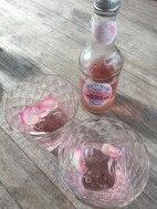 rose lemonade at Briar Rose's castle