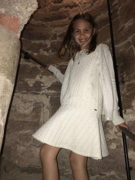 up Rapunzel's tower