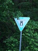 wildlife-awareness sign