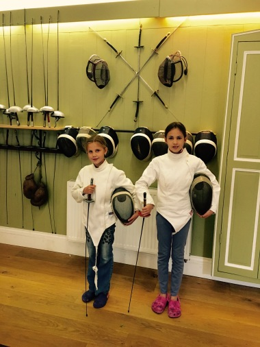Jun 13: finishing fencing lesson