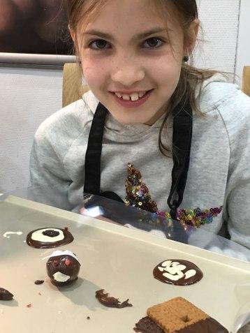 chocolate workshop, Brussels