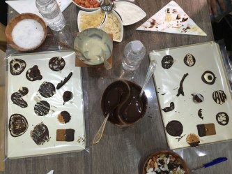 chocolate workshop, Brussels