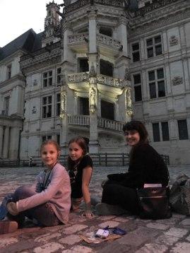 Blois with Carolina