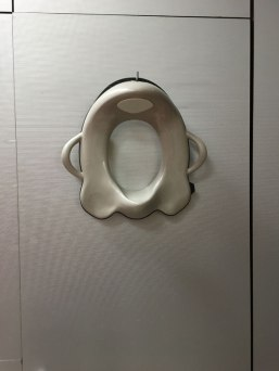 potty seat in public bathrooms, Chambord