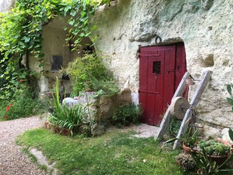 cave dwelling in Loire Valley