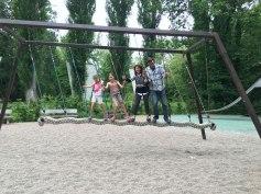 swing in Leonardo's Clos Lucé