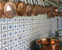 Monet's kitchen, Giverny